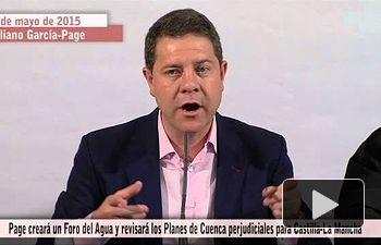 PSOE: Crearé un Foro del Agua para revisar las normativas en contra de C-LM