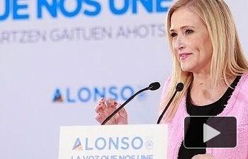 Cristina Cifuentes interviene en el encuentro de presidentes autonómicos del PP