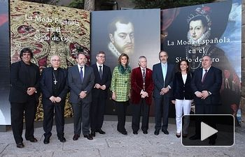 Cospedal inaugura las exposiciones 'La moda española en el siglo de oro' y 'La España de los Austrias'. Foto: JCCM.