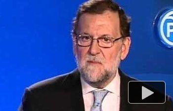 Rajoy: No vamos a aceptar causas generales porque aquí hay gente decente y honrada