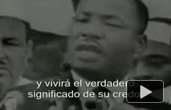 Yo tengo un sueño (I Have a Dream) es el nombre del popular discurso más famoso de Martin Luther King Jr. Pronunciado el 28 de agosto de 1963 desde las escalinatas del Monumento a Lincoln durante la Marcha en Washington por el trabajo y la libertad