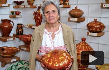 Carmina Useros (en la imagen) y su familia han puesto mucha ilusión y esfuerzo en la realización de este Museo.