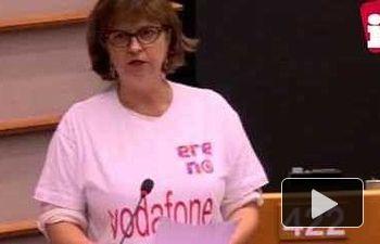 IU: Paloma López respalda la lucha de las plantillas de Bosal y Vodafone