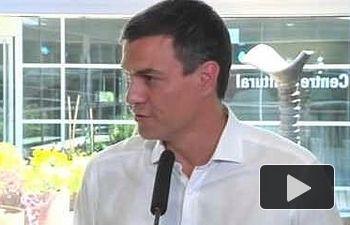 PSOE: VISITA DE TRABAJO DE PEDRO SÁNCHEZ EN L´HOSPITALET DE LLOBREGAT