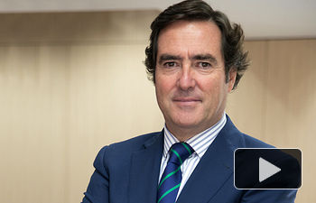 Antonio Garamendi, Presidente de la Confederación Española de la Pequeña y Mediana Empresa (CEPYME) y de CONFEMETAL. Vicepresidente de CEOE