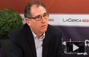 Alipio Lara, director de la Estación de Viticultura y Enología (EVE) de C-LM.