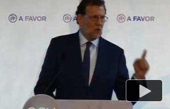 Rajoy: Nuestro pacto es con todos los españoles