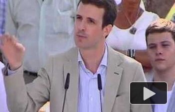 """Casado: """"Que el número cuatro de Juntos por el sí explique qué estaba pasando con el 3% en Cataluña"""""""