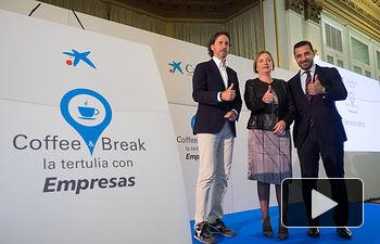 Coffee & Break, la tertulia con Empresas de CaixaBank