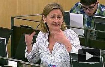 Luz Rodríguez defiende la propuesta socialista sobre igualdad salarial