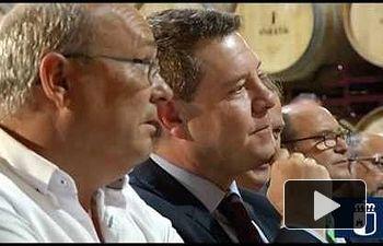 JCCM: Presentación del nuevo vino 'Corazón Spumante' de Bodegas Iniesta