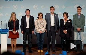 Mariano Rajoy clausura las jornadas Para la Libertad del PPCV