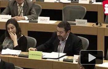 IU: Javier Couso desmonta el doble rasero con el que la UE trata a Venezuela
