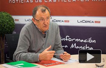 Juan Alonso Ruiz, secretario provincial de SATSE en Albacete.