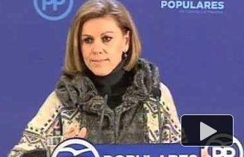 Cospedal: Yo no quiero que España sea la réplica de Venezuela