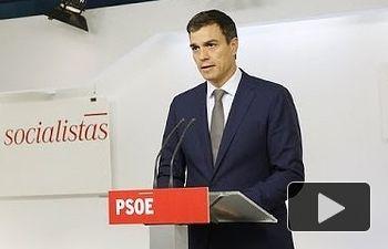 PSOE: Pedro Sánchez condena los atentados de Francia, Túnez y Kuwait