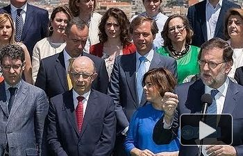 Rajoy: Vamos a hacer una campaña #Afavor de los españoles y de España