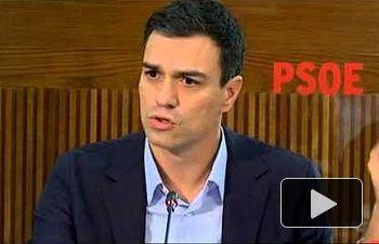 Pedro Sánchez: Rajoy no es el presidente que necesita España