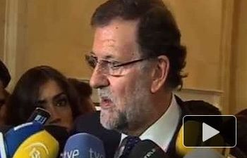 """Rajoy: """"Vamos a ayudar a aquellas personas perseguidas por razones políticas en Siria"""""""