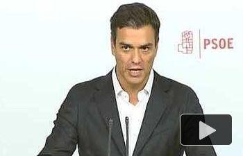 PSOE: Iniciaremos una ronda de contactos con todas las fuerzas políticas