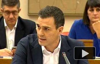 Pedro Sánchez: El PSOE va a actuar en interés de la mayoría