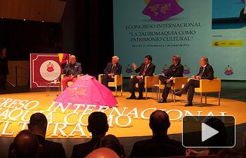 "Quinta mesa redonda del I Congreso Internacional de Tauromaquia. ""Tauromaquia y poderes públicos"""