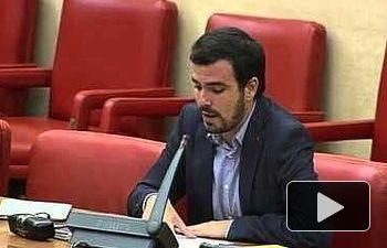 "IU: Garzón  tacha de ""totalmente infame"" que el gobierno se niegue a discutir sobre una quita a Grecia"
