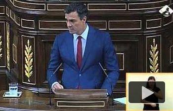 Pedro Sánchez: Sr. Rajoy, usted ha roto España con sus políticas