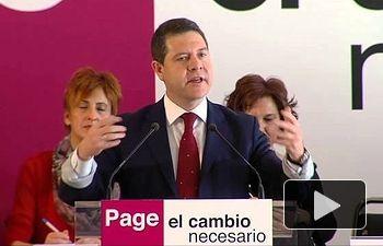 PSOE: Quiero ser Presidente de un Gobierno con escrúpulos, con alma y con corazón