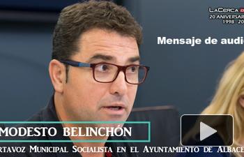 Modesto Belinchón - Captura pantalla - Audio reproche a Ciudadanos - 03-07-17