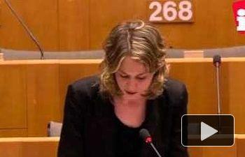 """Marina Albiol: """"Con el TTIP ustedes imponen silencio y nosotros exigimos un referéndum"""""""