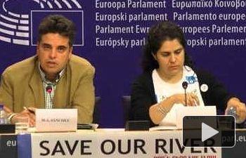IU: Streaming de la rueda de prensa con peticionarios sobre ríos