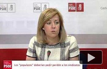 PSOE: El PP actúa con mucha hipocresía, cuando gobierna...