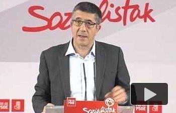 Rueda de Prensa Patxi López