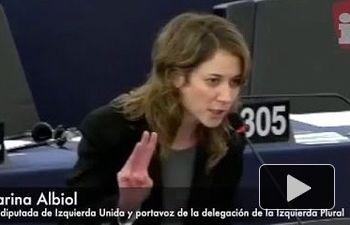 IU: Marina Albiol reclama la dimisión de Juncker, Tusk y Avramopoulos por la crisis de refugiados