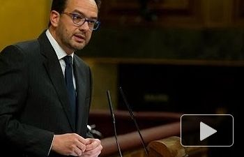 PSOE: Antonio Hernando sobre el Conflicto de atribuciones entre Congreso y Gobierno