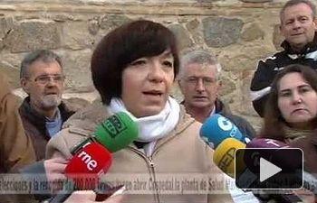 PSOE: La presión social hace decir a Cospedal que va a abrir una planta cerrada más de 3 años