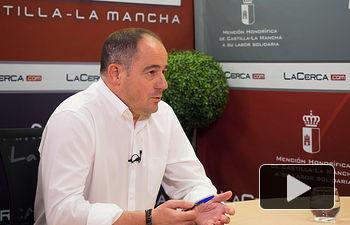 Emilio Sáez, diputado del Grupo Parlamentario Socialista en las Cortes de Castilla-La Mancha