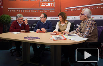 Juan Antonio Mata, Fracisco de la Rosa, Carmen Juste y Manuel Lozano
