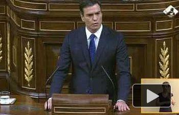 PSOE: Intervención de Pedro Sánchez en la segunda votación del debate de investidura
