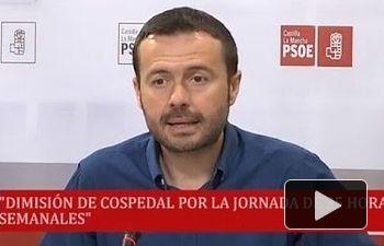 El Grupo Socialista pedirá la dimisión de Cospedal...
