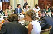 Reunión del Consejo Consultivo de Política Agrícola. Foto: JCCM.