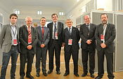 El consejero de Agricultura, Francisco Martínez Arroyo, asiste a la Asamblea de las Regiones Europeas Vitícolas en Lednice (Moravia del Sur). Foto: JCCM.