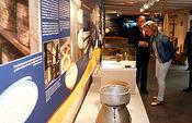 Casero visita el Museo del Queso de Manzanares. Foto: JCCM.