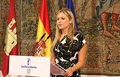 Consejera de Fomento sobre los acuerdos en relación al Trasvase Tajo-Segura. Foto: JCCM.