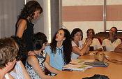 la reunión en Bienestar Social con las entidades del SEPAP. Foto: JCCM.