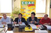 Carlos Cabanas asiste al Pleno de COAG para explicar las modificaciones de última hora en la aplicación de la nueva PAC. Foto: COAG.