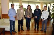 La consejera de Economía mantiene una reunión con el presidente de Cruz Roja Castilla-La Mancha. Foto: JCCM.