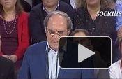 """PSOE: Ángel Gabilondo - Acto presentación candidato a la C. de Madrid: """"La honradez es la mejor política"""""""