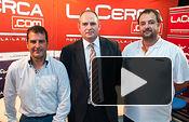 Ángel Tejada, presidente de CB UCA, Sebastián Cuevas, vicepresidente de CB UCA, y Tomás Moreno, coordinador general CB UCA.